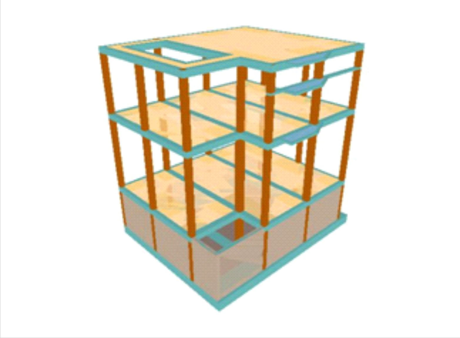 Cálculo de la estructura del MUBAM