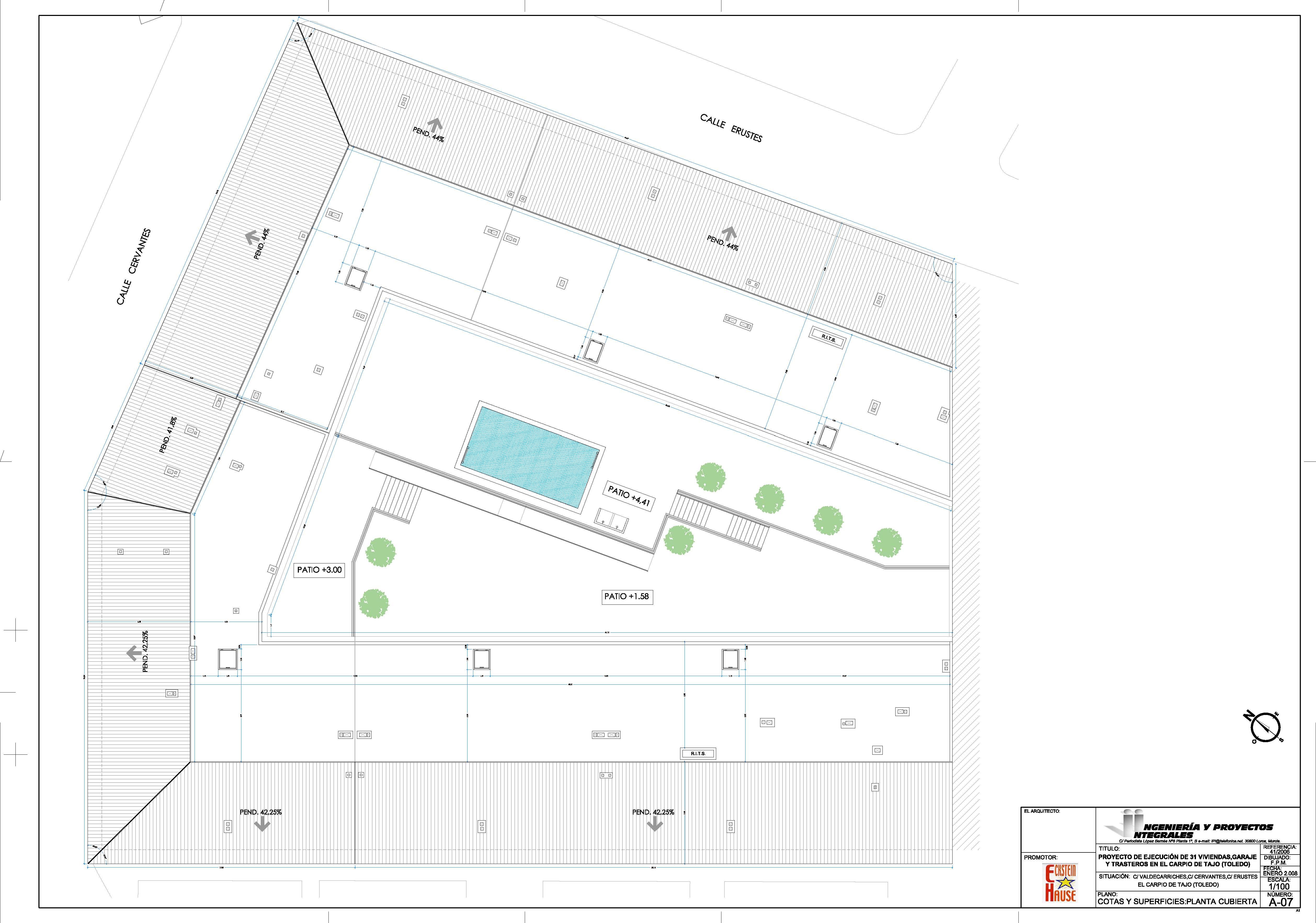 Proyecto 31 Viviendas, Garaje y Trasteros