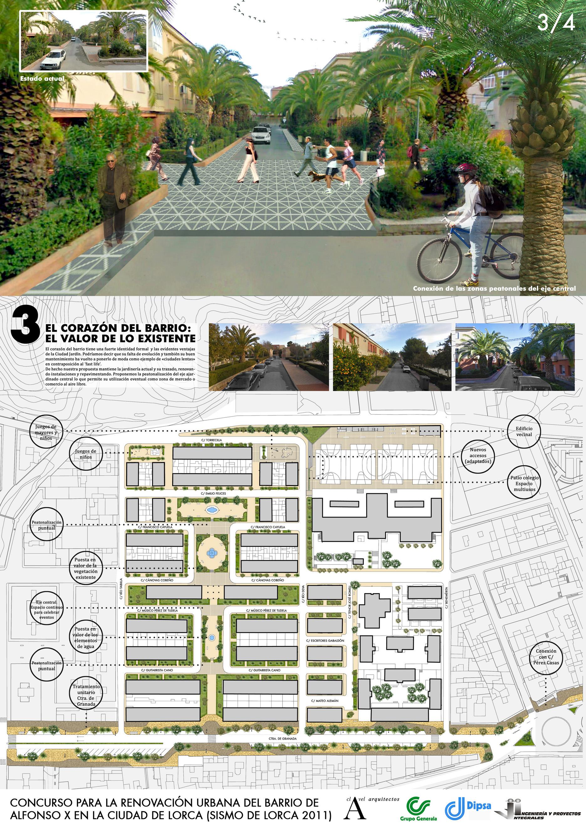 Renovación urbana del barrio Alfonso X