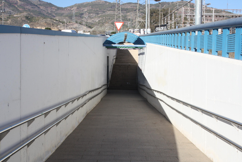 Paso Subterráneo bajo calzada