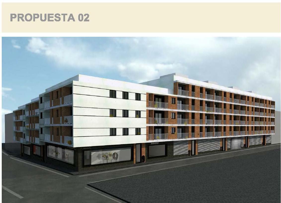 Edificio de 88 viviendas