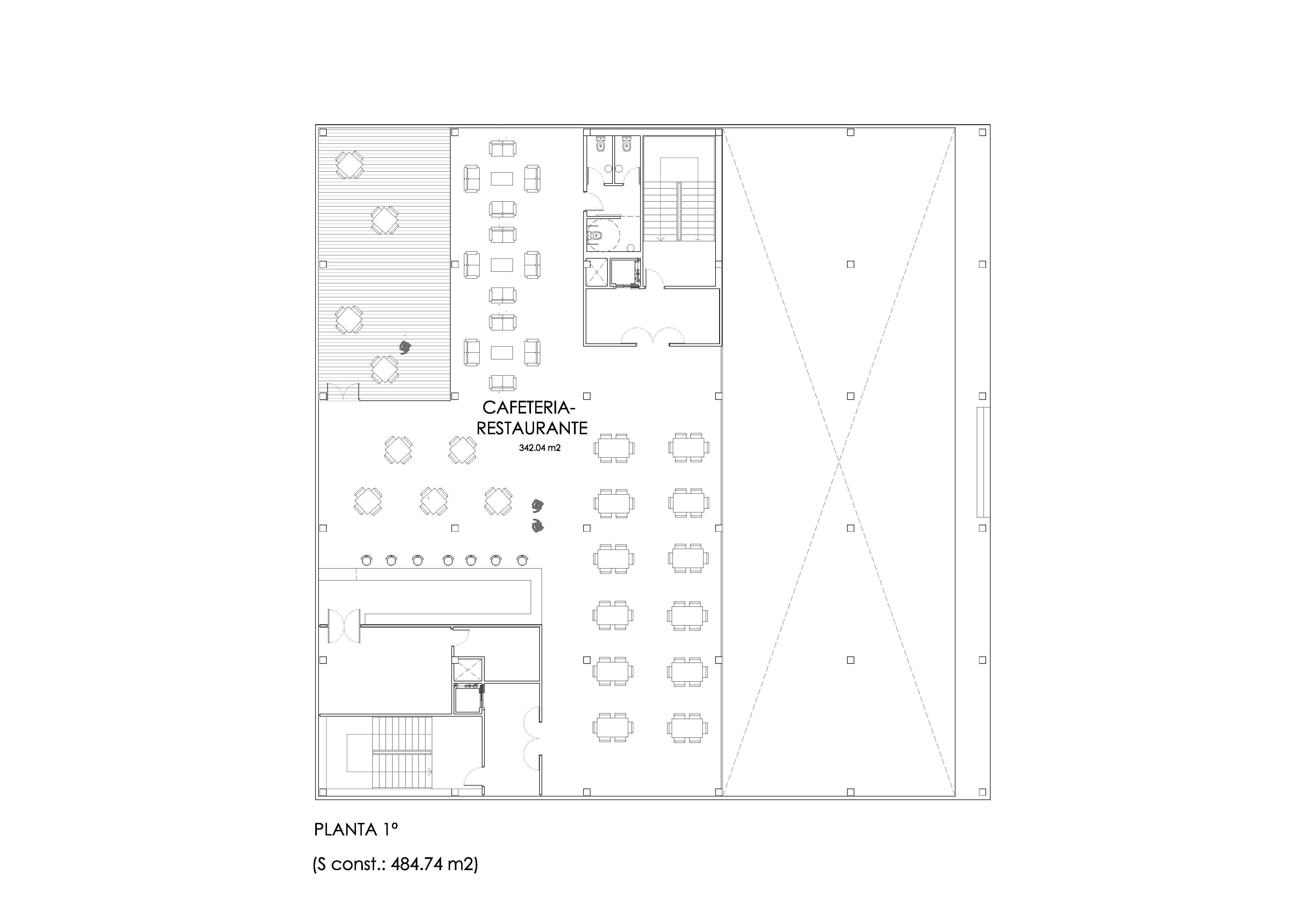 Anteproyecto oficinas en Sector 2-I.