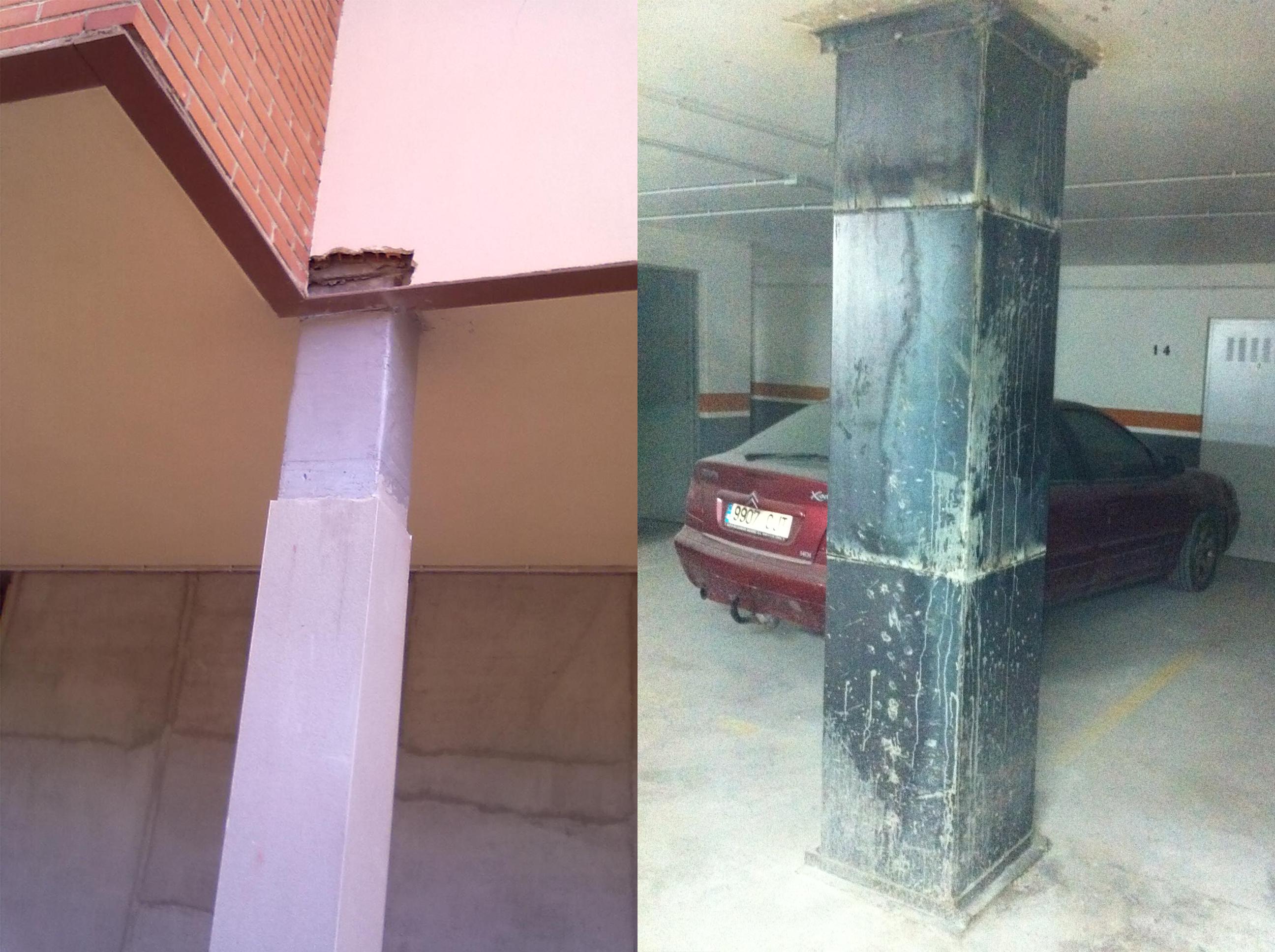 Rehabilitación de edificios tras los daños sufridos por Terremoto de Lorca de Mayo de 2011.