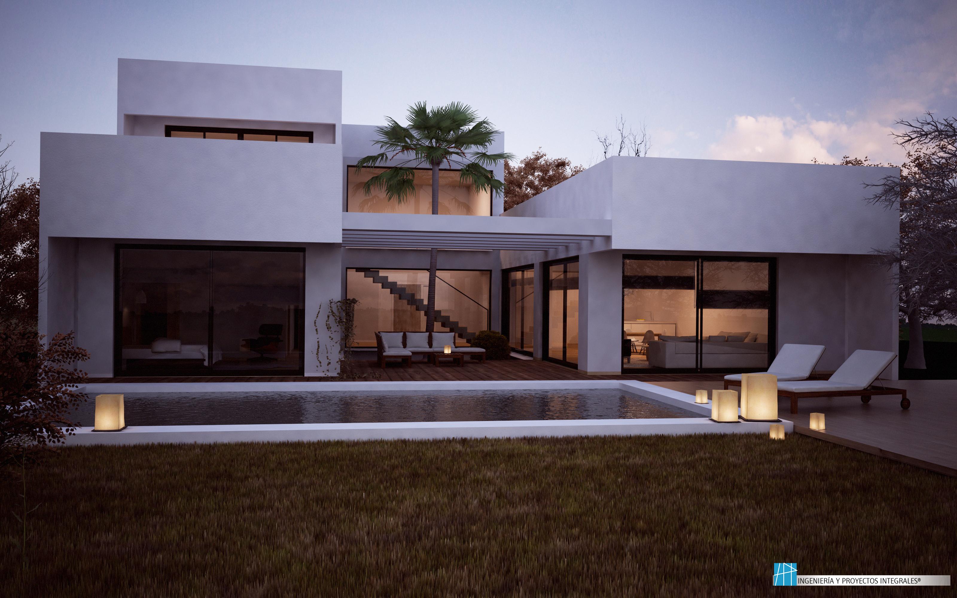 Viviendas unifamiliares en murcia ingenier a y proyectos - Proyectos casas unifamiliares ...