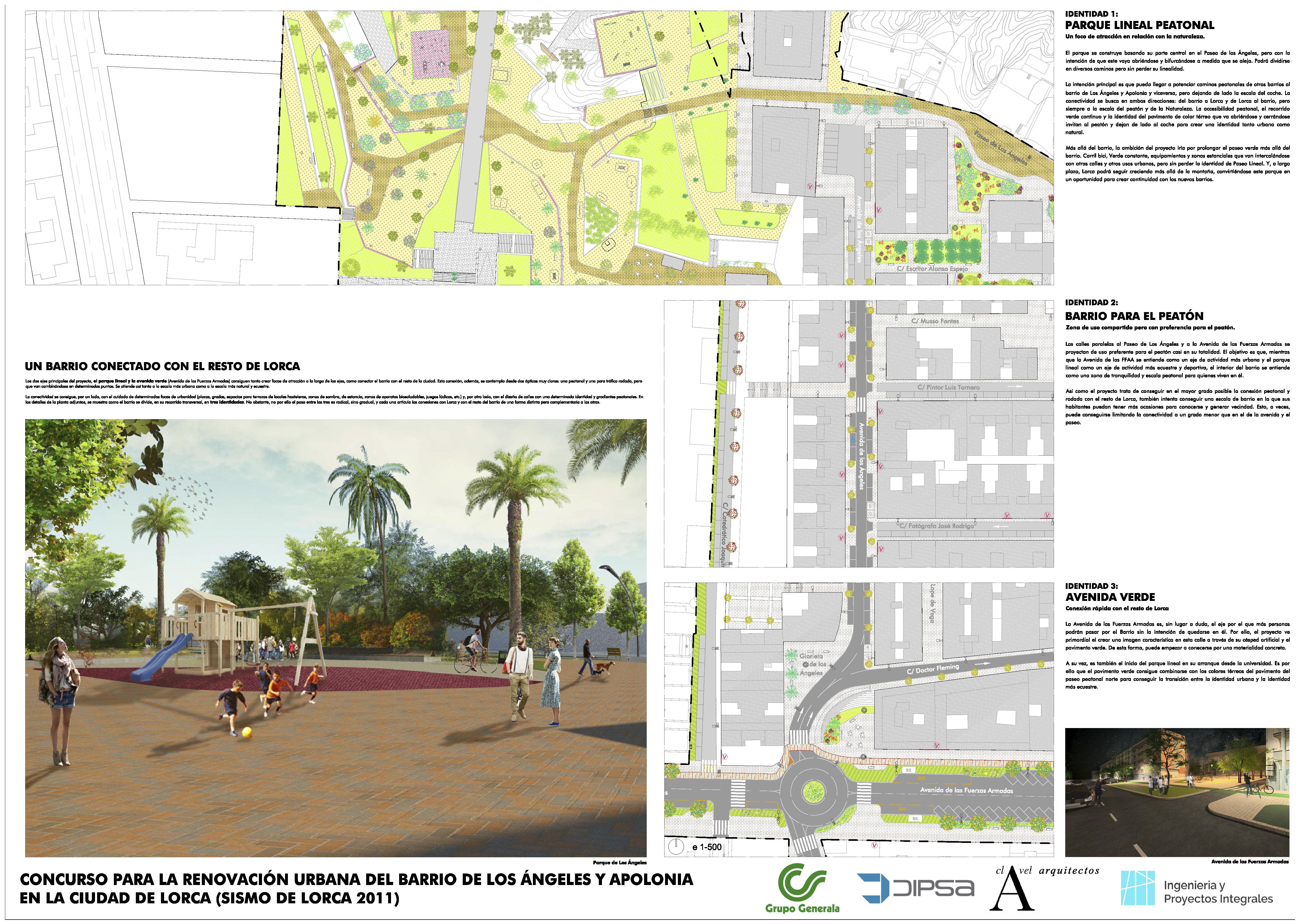 Renovación urbana del barrio los Angeles