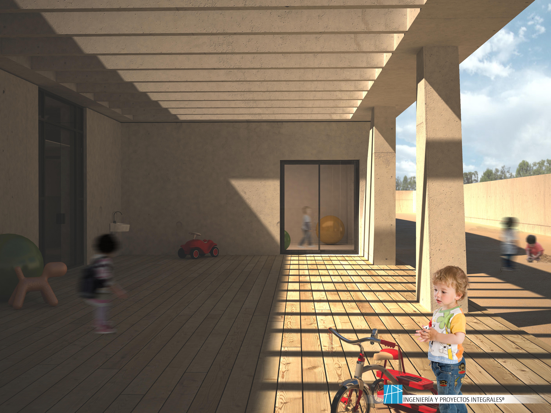 Centro escolar en Lorca.