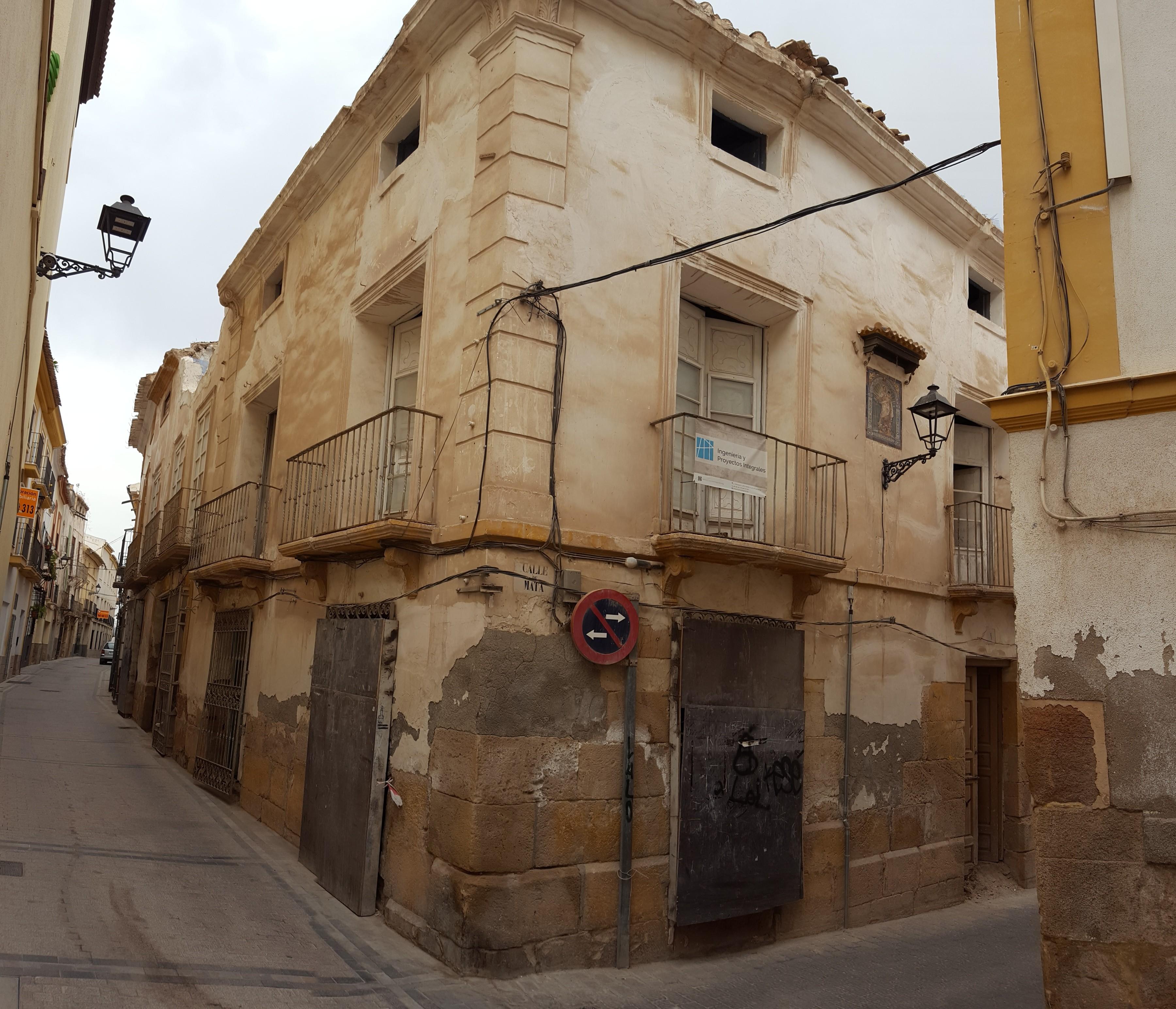 Rehabilitación vivienda en casco histórico de Lorca